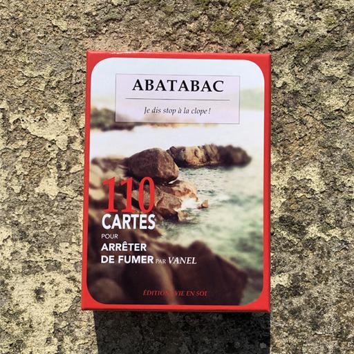 abatabac arret cigarette jeu de cartes paquet